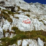 Ferrata Anita Goitan Jof Fuart 25 signs for jof fuart