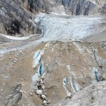 Ferrata Antelao 12 ghiacciaio
