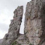 Ferrata Averau 2 avvicinamento