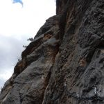 Ferrata Badde Pentumas 22 third cross section
