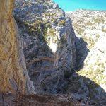 Ferrata Badde Pentumas 3 tall canyon