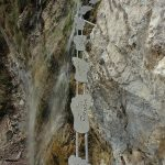 Ferrata Ballino Rio Ruzza waterfall 23
