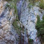 Ferrata Ballino Rio Ruzza waterfall 3 start