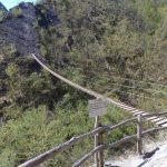 Ferrata Balze del Malpasso Suspension bridge 1