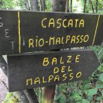 Ferrata Balze del Malpasso sign 3
