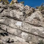 Ferrata Balze del Malpasso first wall with brackets