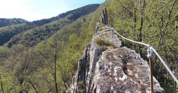 Ferrata Barranco del Dolo ridge (2018-04-13T08_59_37.474)