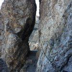 Ferrata Bepi Zac rock carving