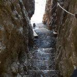 Ferrata Bepi Zac staircase