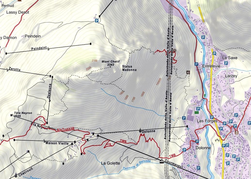 Mont Chetif Bicentennial Ferrata