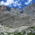 Ferrata Bolver Lugli 62 towards approach