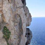 Ferrata Cabirol 52 downhill section