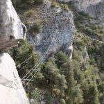 Ferrata Camoglieres 38 bridge