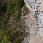 Ferrata Camoglieres 48 parete obliqua