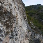 Ferrata Camoglieres 50 fifth section