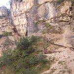 Ferrata Cascate di Fanes 3 path