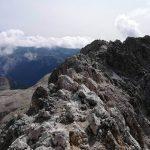 Ferrata Catinaccia Antermoia Final ridge