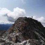Ferrata Catinaccia Antermoia Final ridge 2