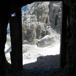 Ferrata Cengia Veronesi 2 exit cave
