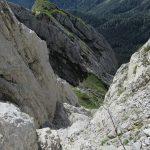 Ferrata Chiadenis 30 canalon