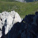 Ferrata Coglians weg der 26er 10 ridge