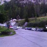 Ferrata Coglians weg der 26er 24 parking lot