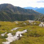 Ferrata Coglians weg der 26er 36 descent
