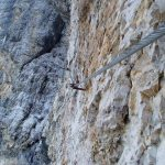 Costantini Ferrata Moiazza 15 traverse