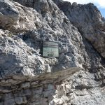 Ferrata Costantini Moiazza 29 cima cattedrale