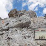 Ferrata Costantini Moiazza 37 cima cattedrale