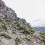 Ferrata Crete Rosse 17 avvicinamento