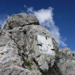 Ferrata Crete Rosse 36 state border