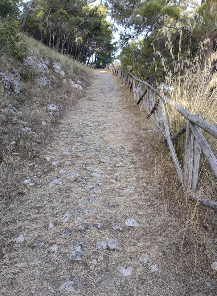 Ferrata CristoRedentore Maratea – 12 sentiero avvicinamento