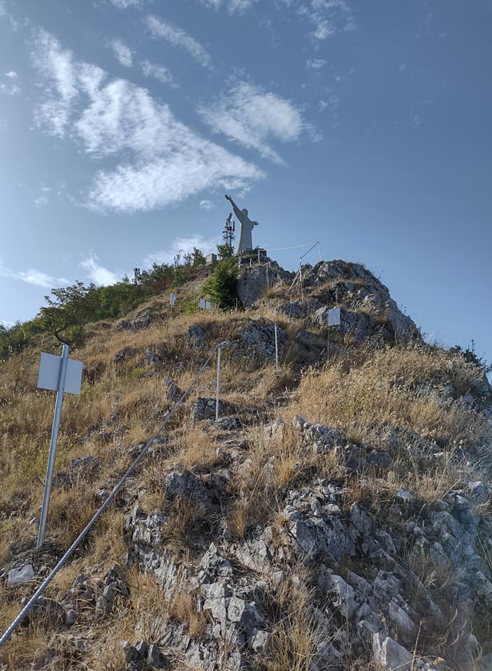 Ferrata CristoRedentore Maratea – 5 ultimi metri