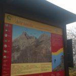 Ferrata Deanna Orlandini 11 notice board
