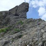 Ferrata Deanna Orlandini 4 gorge exit