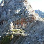 Ferrata Dibona 5 war ruins