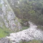 Ferrata Dino Buzzati 23 approach