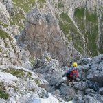 Ferrata Dino Buzzati 39 return hailed