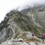 Ferrata Falcipieri 67 towards the observatory peak