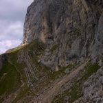 Ferrata Finanzieri Colac Half-way path back