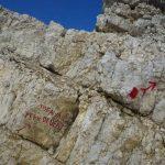 Ferrata Formenton Sign Approaching