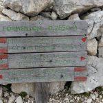 Ferrata Formenton Tofana Dentro Rientro Bivio Segnalato