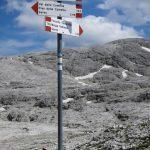 Ferrata Gabitta Ignoti 26 crossroads