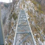 Ferrata Gamma 1 21 bridge