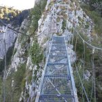Ferrata Gamma 1 Pizzo Erna 9 bridge
