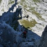 Ferrata Grasselli Canin 20 close start