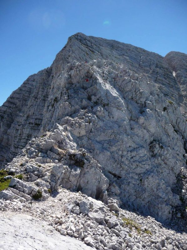 Ferrata Grasselli Canin 30 ridge