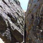Ferrata Guide di Grassoney 33 camino