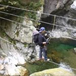 Ferrata Infernone - Tibetan Bridge